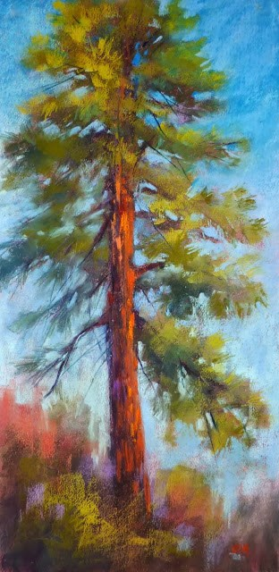 """10 Minutes to Better Tree Paintings"" original fine art by Karen Margulis"