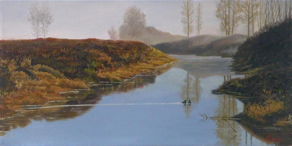 """""""March Morning"""" original fine art by Peter Lentini"""
