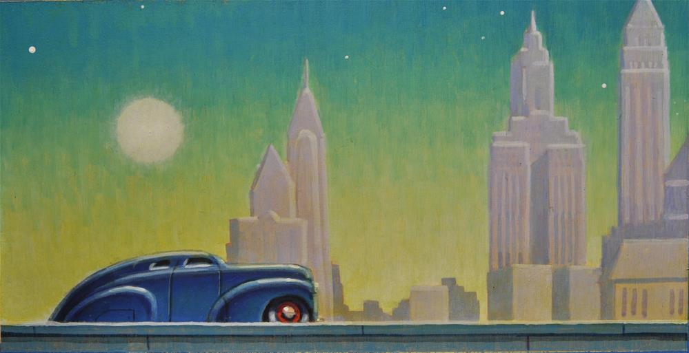 """Remains of Day"" original fine art by Robert LaDuke"