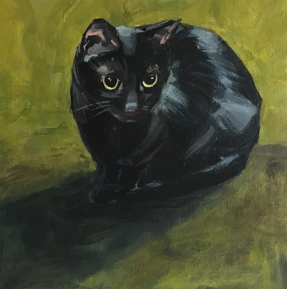 """Olive No. 15"" original fine art by Shannon Bauer"