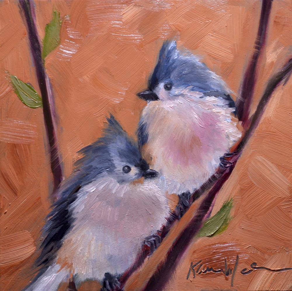 """""""Together"""" original fine art by Karen Weber"""