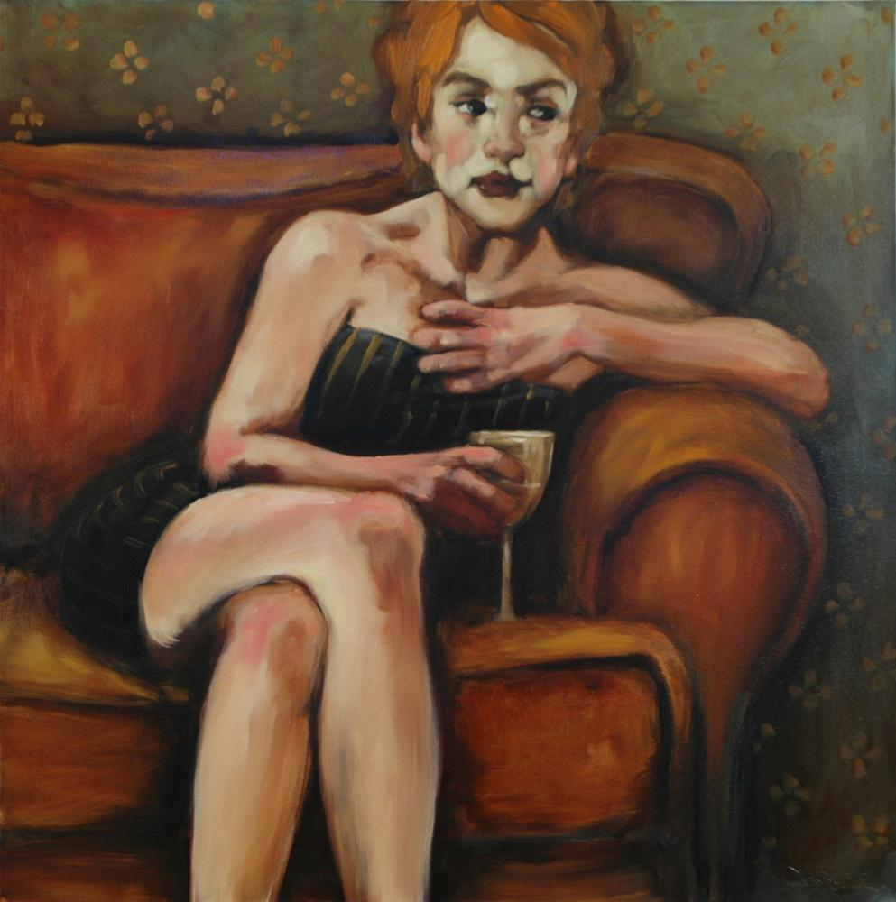 """Over The Top"" original fine art by Kayleen Horsma"