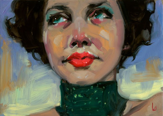 """Exercise in Joy"" original fine art by John Larriva"