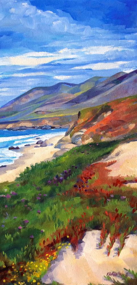 """Close to  Heaven"" original fine art by Kathleen Gray Farthing"