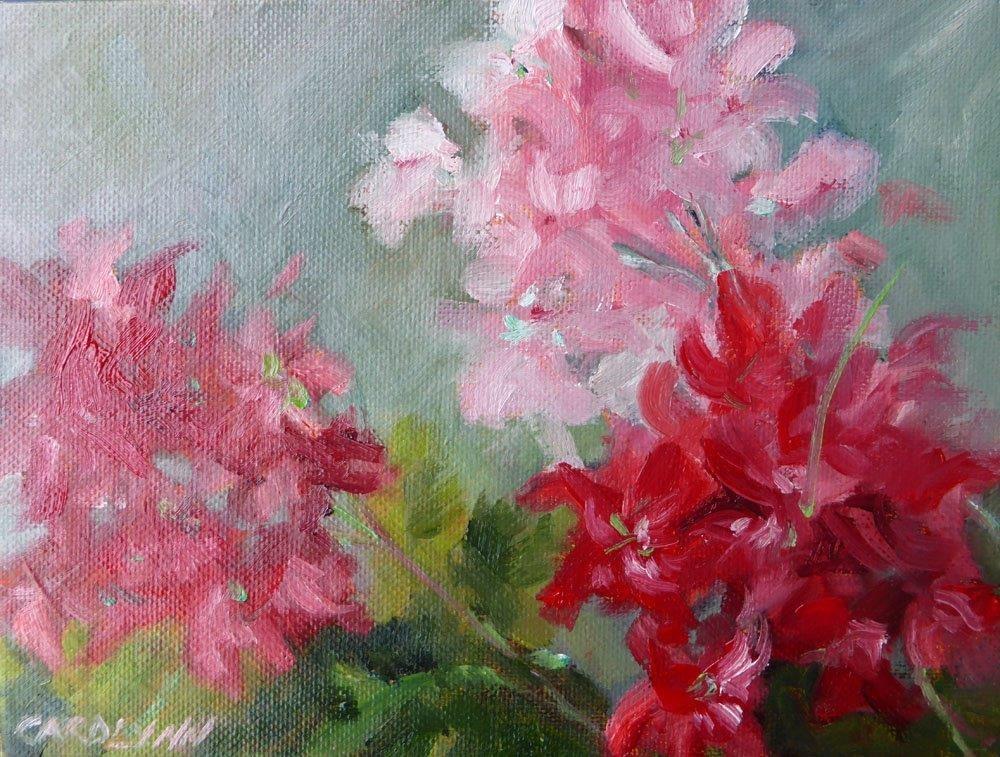 """Colour of Love"" original fine art by Carolynn Doan"