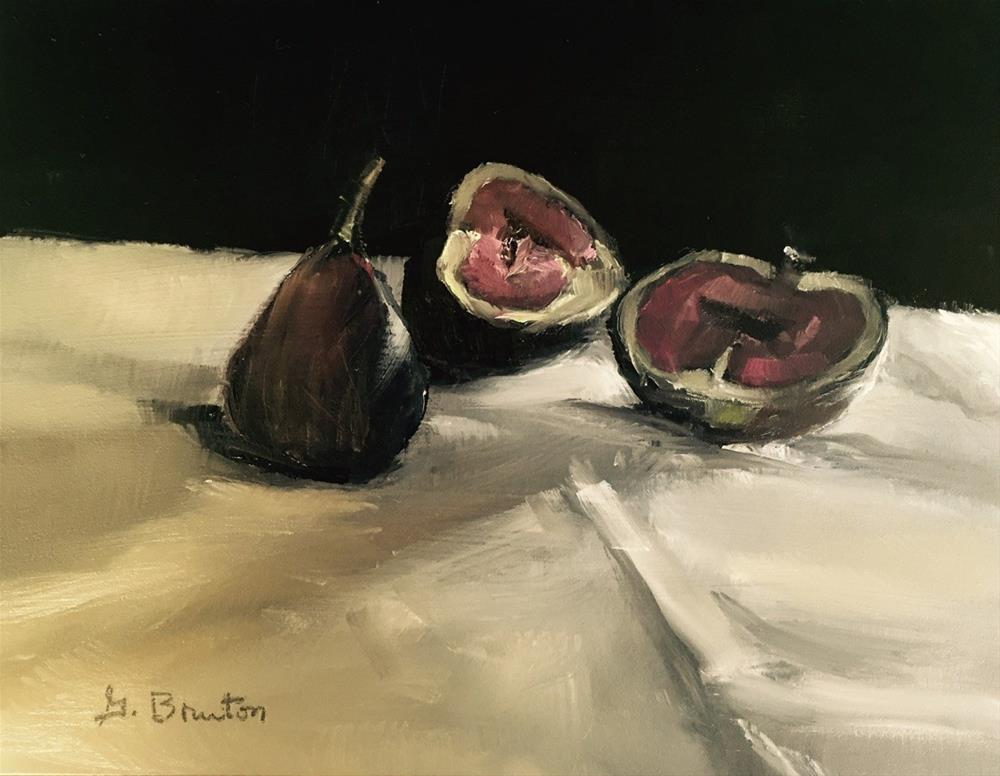 """Figs Afternoon Light"" original fine art by Gary Bruton"