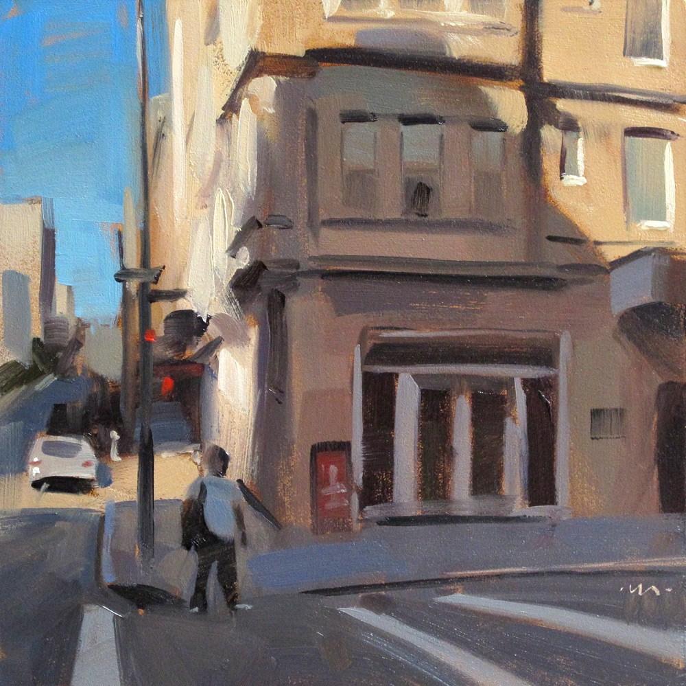 """""""Shadowy Corner"""" original fine art by Carol Marine"""