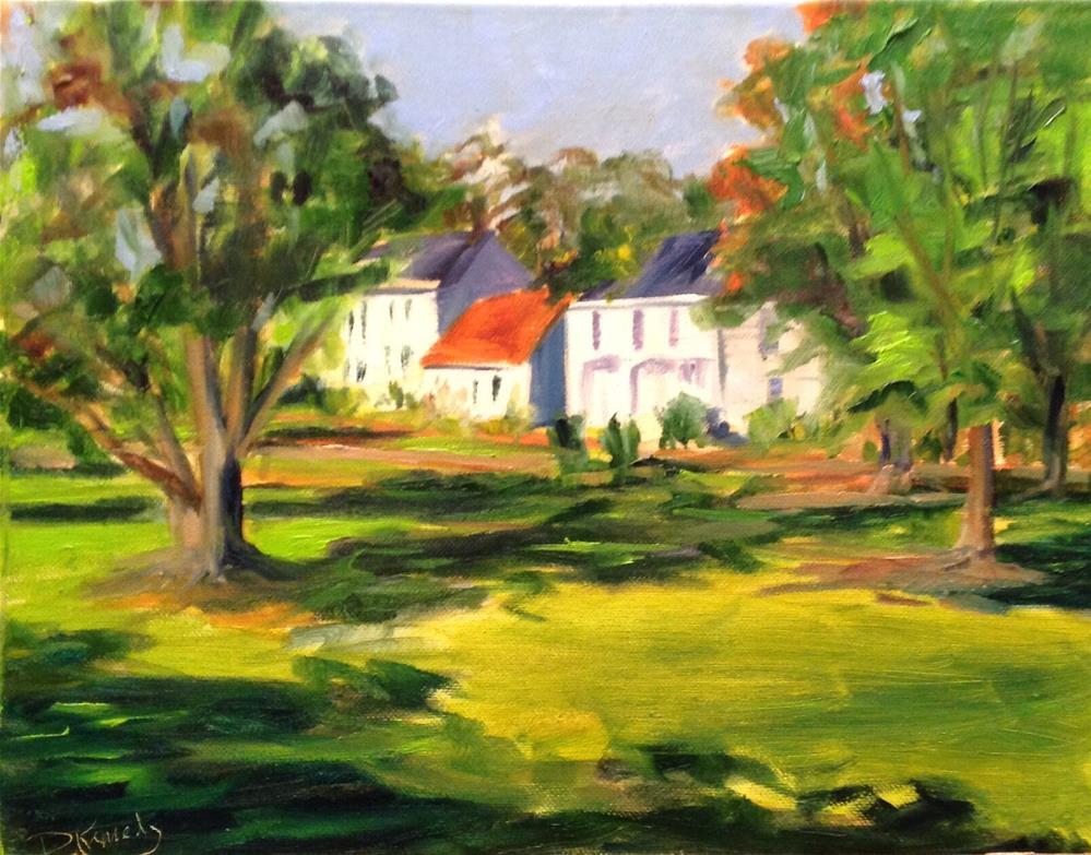 """""""First Foliage"""" original fine art by Debra Kennedy"""