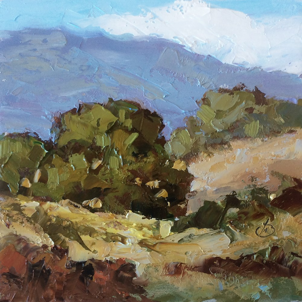 """LAGUNA CANYON, NEAR BIG BEND"" original fine art by Tom Brown"