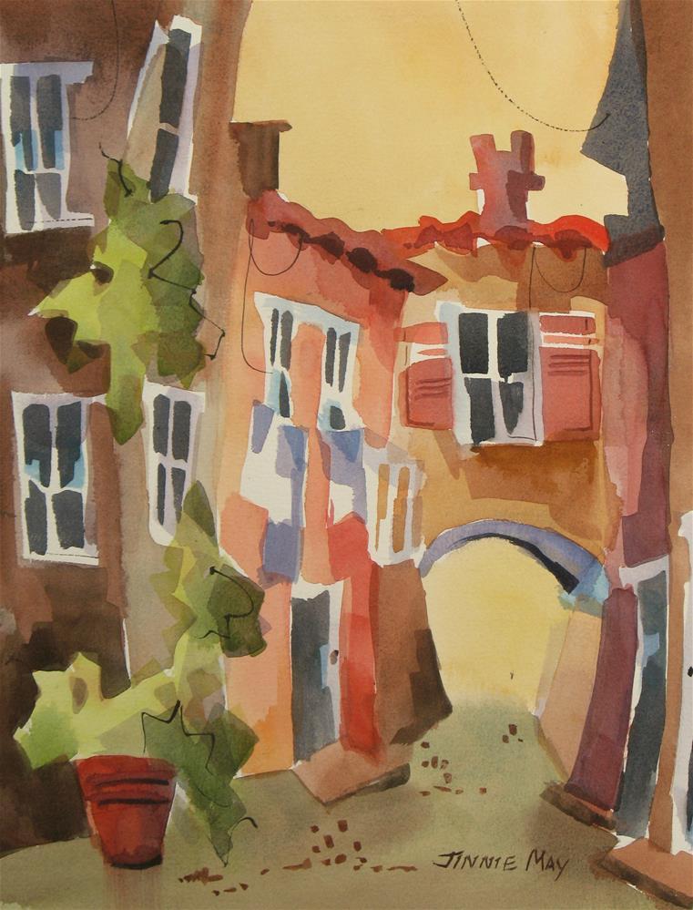 """Amalfi"" original fine art by Jinnie May"