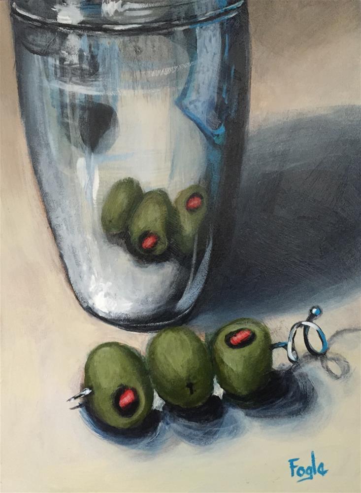 """""""15-8 Shake It Up"""" original fine art by Rachel Fogle"""