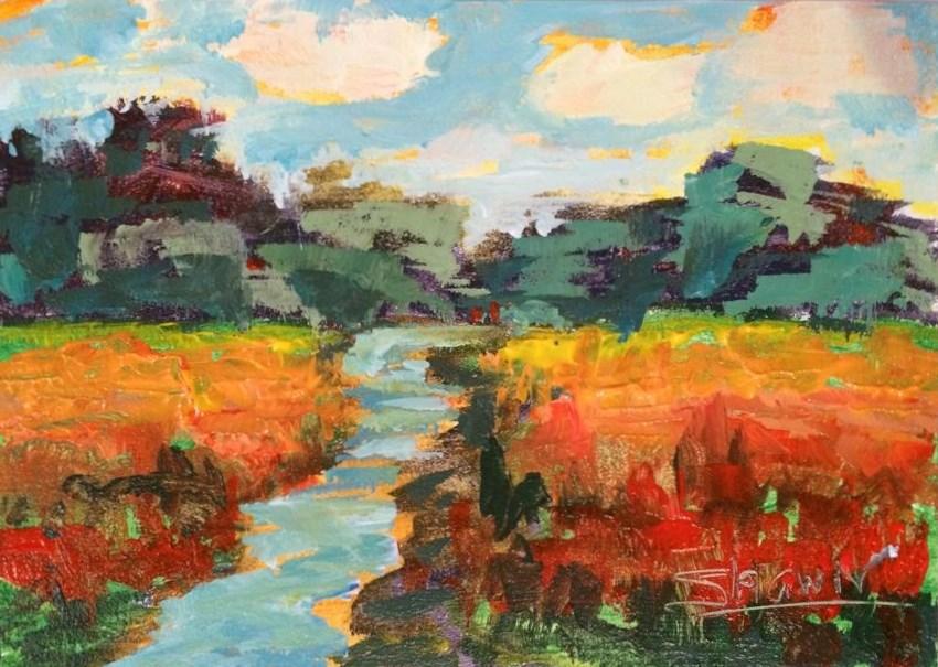 """""""Fall Show"""" original fine art by Shawn Deitch"""