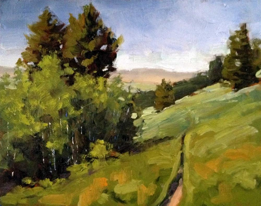 """Montana Hike"" original fine art by Deborah Newman"