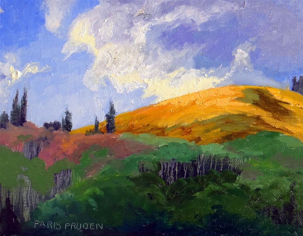 """Above the Tree Line"" original fine art by Nancy Paris Pruden"
