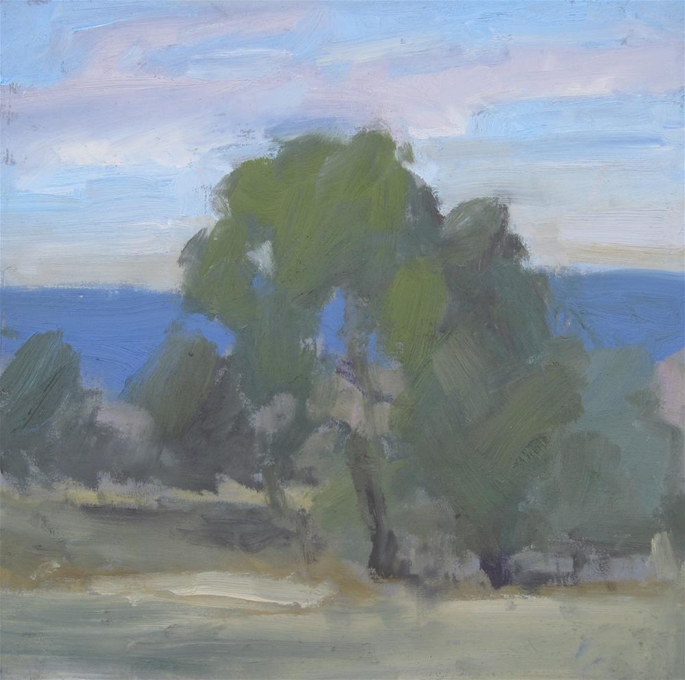 """Sunset 6"" original fine art by Carol Johansen"