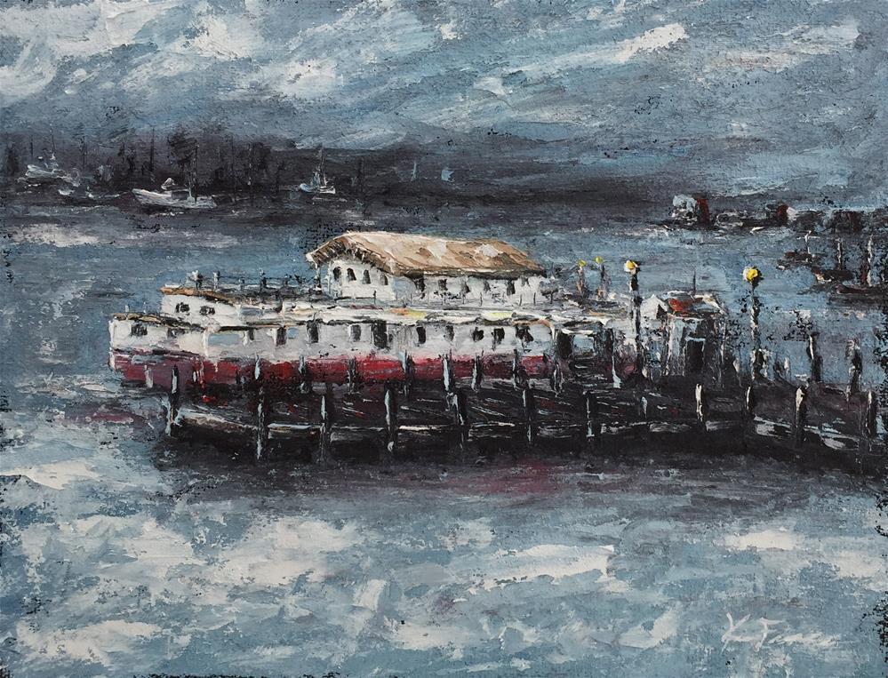 """The Fanciulla Del Mare (Sea Maiden)"" original fine art by Ken Fraser"