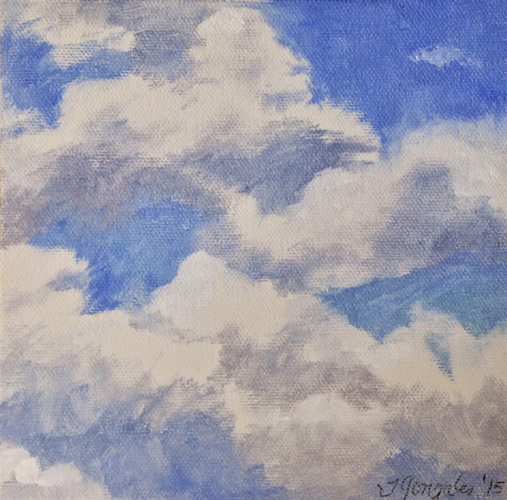 """I've Looked at Clouds..."" original fine art by Theresa Gonzales"