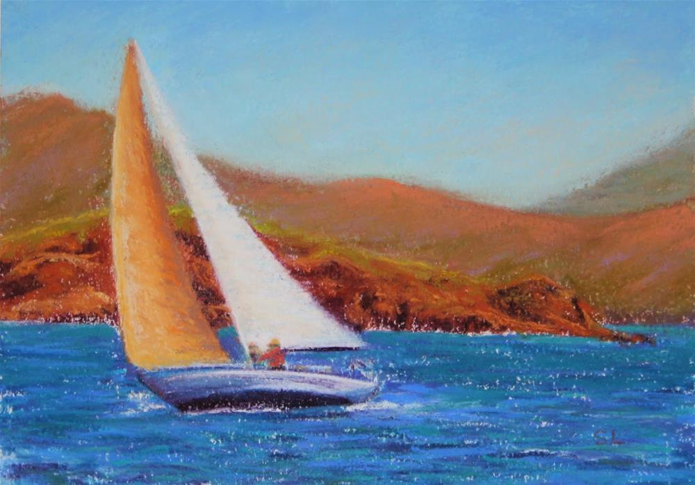 """Summer Winds"" original fine art by Sharon Lewis"