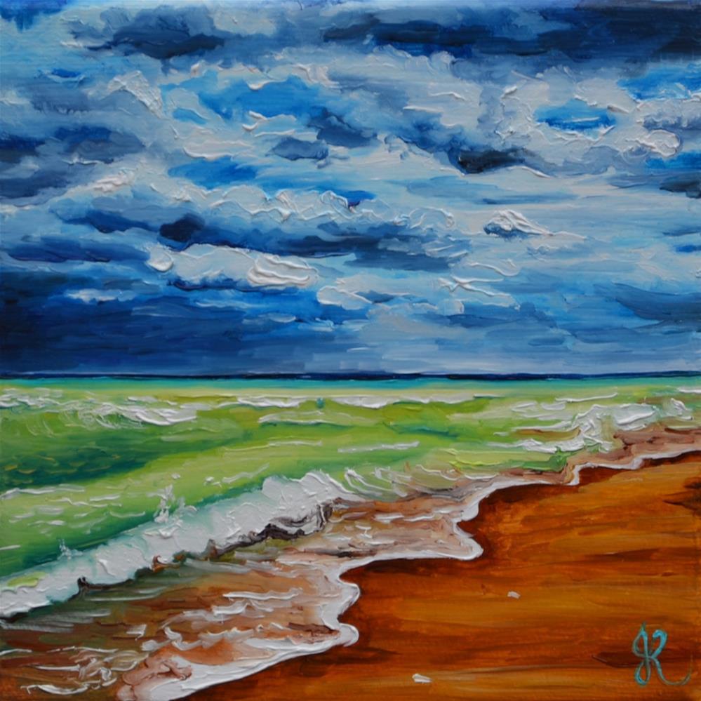 """Hurricane-a-comin"" original fine art by Jacinthe Rivard"