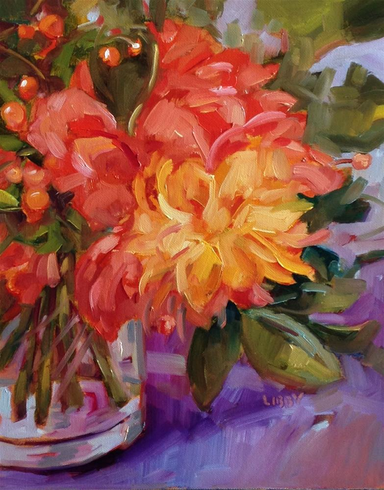 """Color and Promise"" original fine art by Libby Anderson"