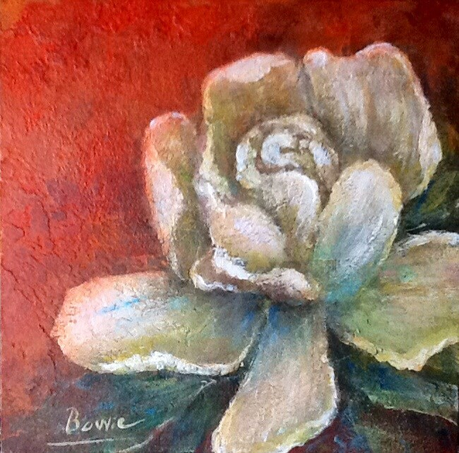 """A Whiter Shade of Pale"" original fine art by Maureen Bowie"