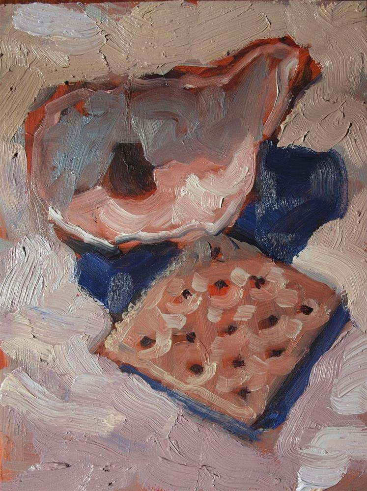 """Oyster Cracker 2"" original fine art by Rick Nilson"