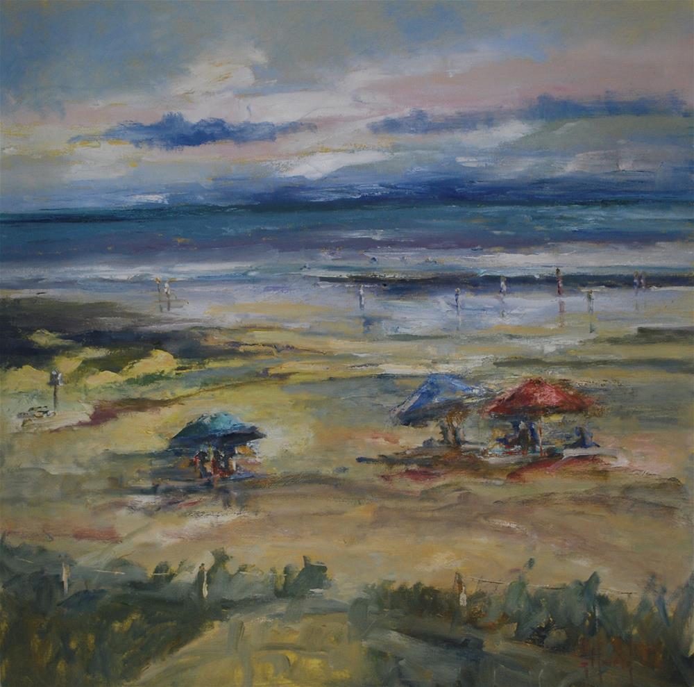 """""""West Coast"""" original fine art by Deborah Harold"""