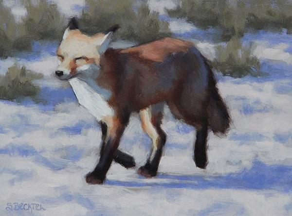 """""""Frolic"""" original fine art by Sarah Becktel"""