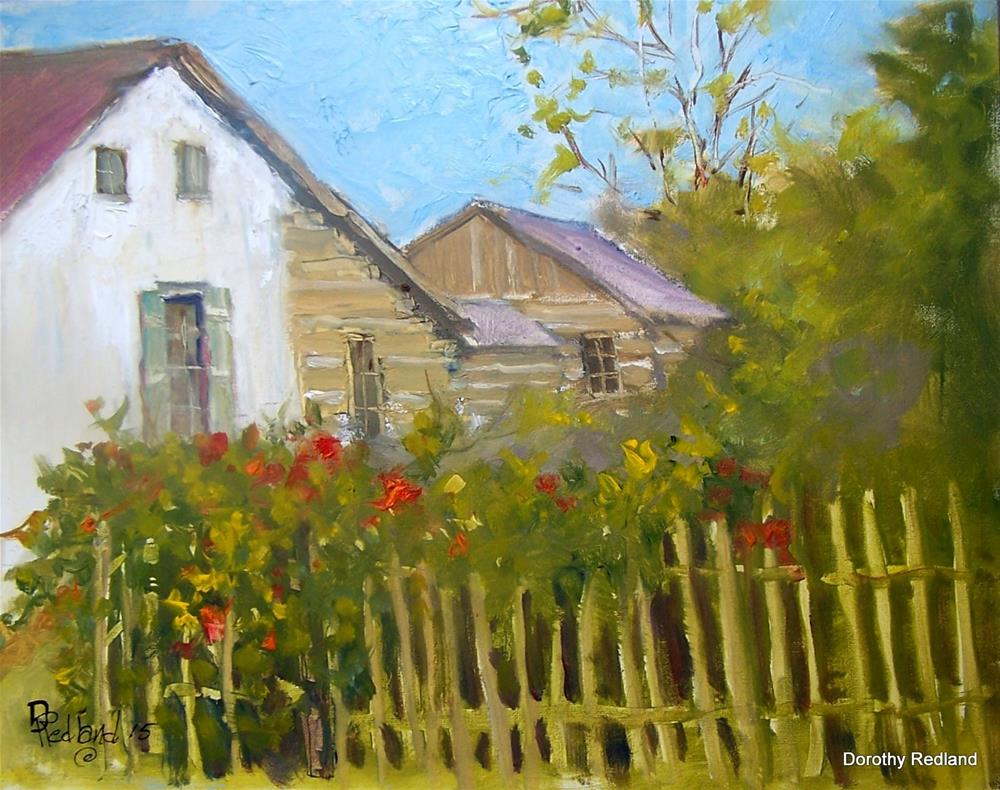 """Home at Castroville"" original fine art by Dorothy Redland"