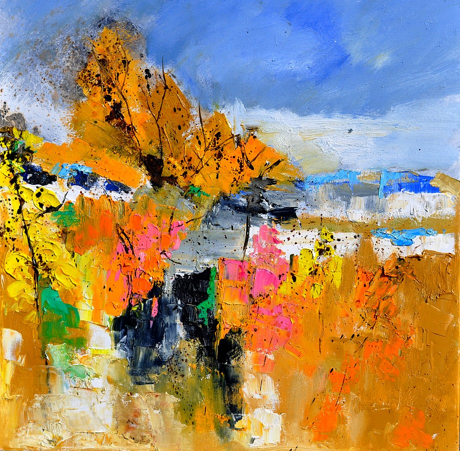 """abstract 6611702"" original fine art by Pol Ledent"