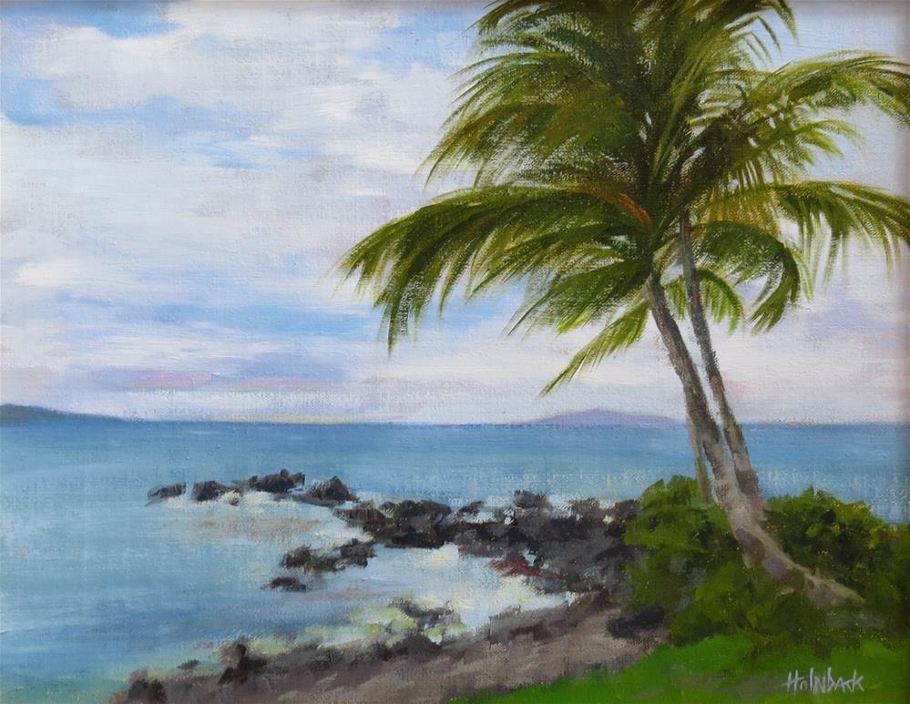 """Maui Wedding"" original fine art by Pam Holnback"