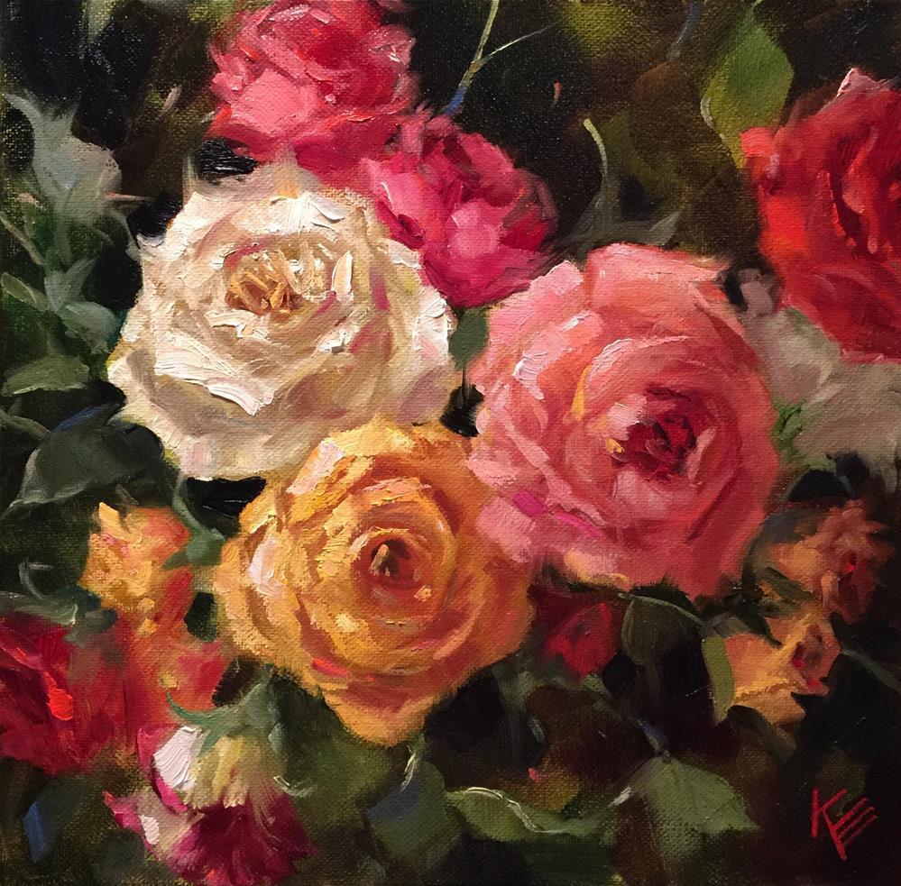 """Remembering"" original fine art by Krista Eaton"