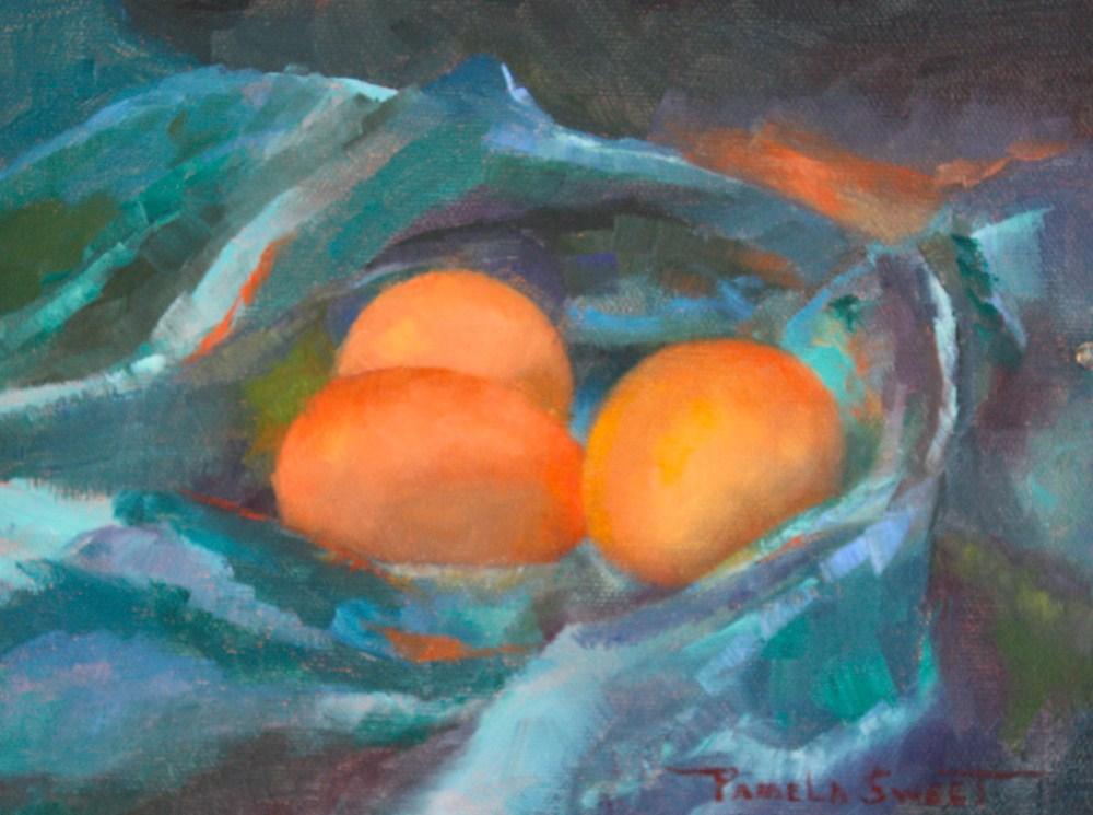 """""""Nestle"""" original fine art by Pamela Sweet"""