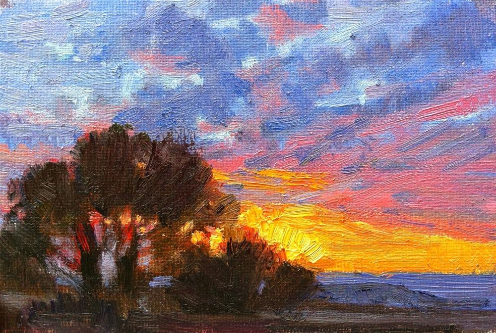 """""""A Little Light"""" original fine art by V.... Vaughan"""