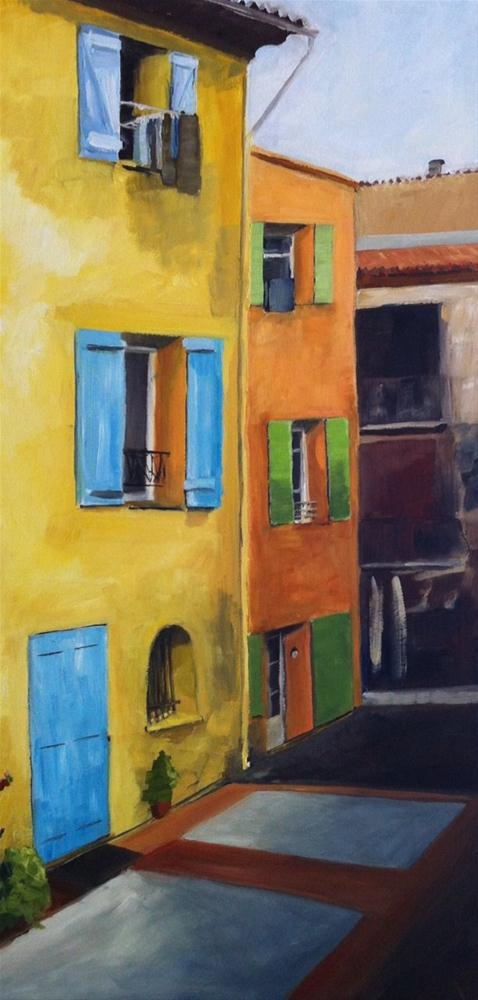 """Barjols"" original fine art by Karen D'angeac Mihm"