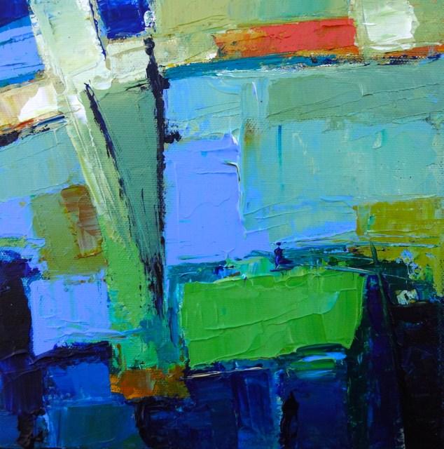 """""""Azure"""" original fine art by Elizabeth Chapman"""