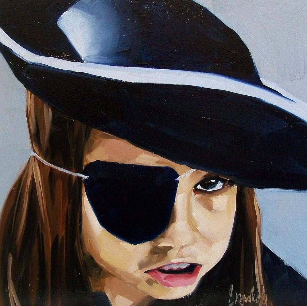 """One eye"" original fine art by Brandi Bowman"