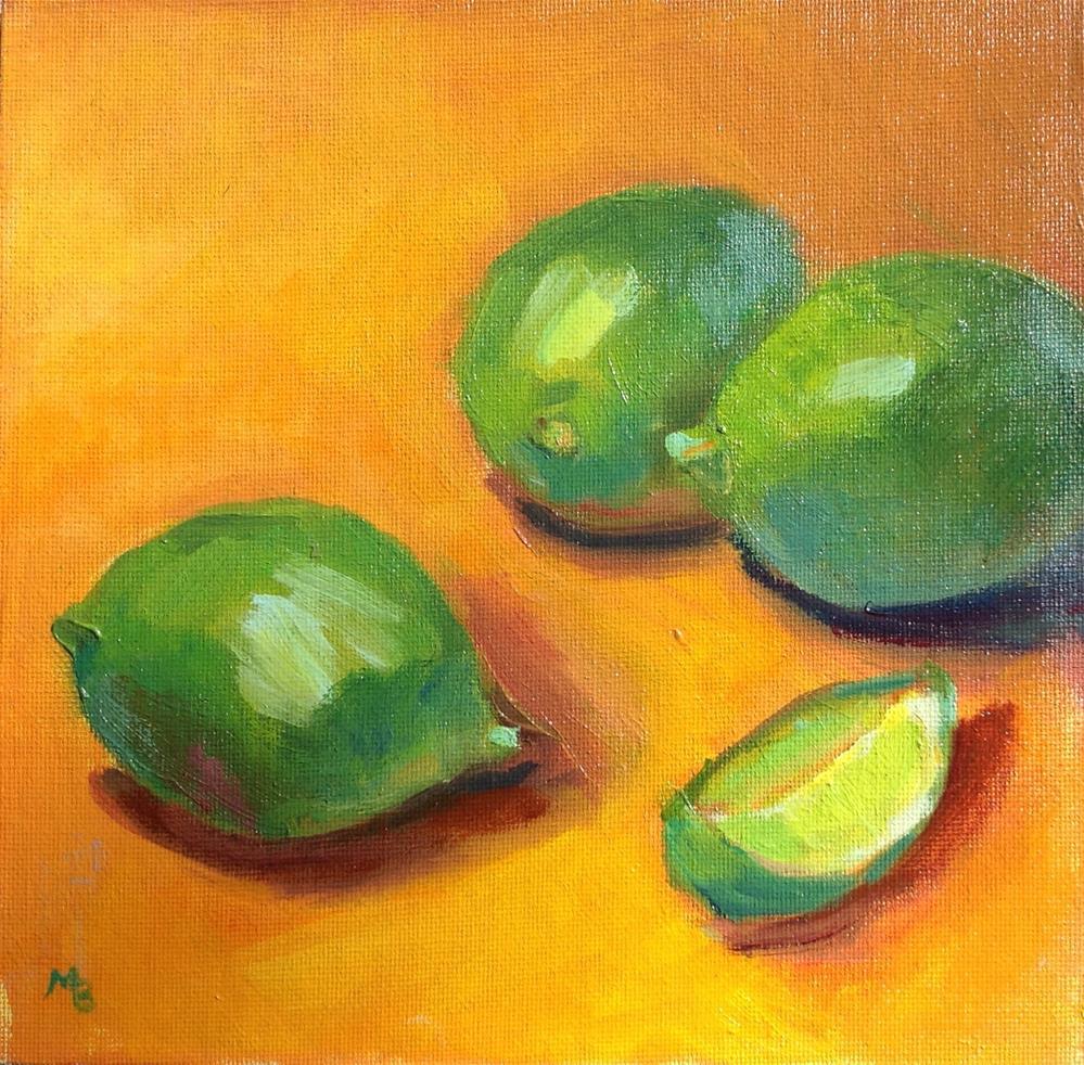 """Margaritaville"" original fine art by Marcia Bergtholdt"
