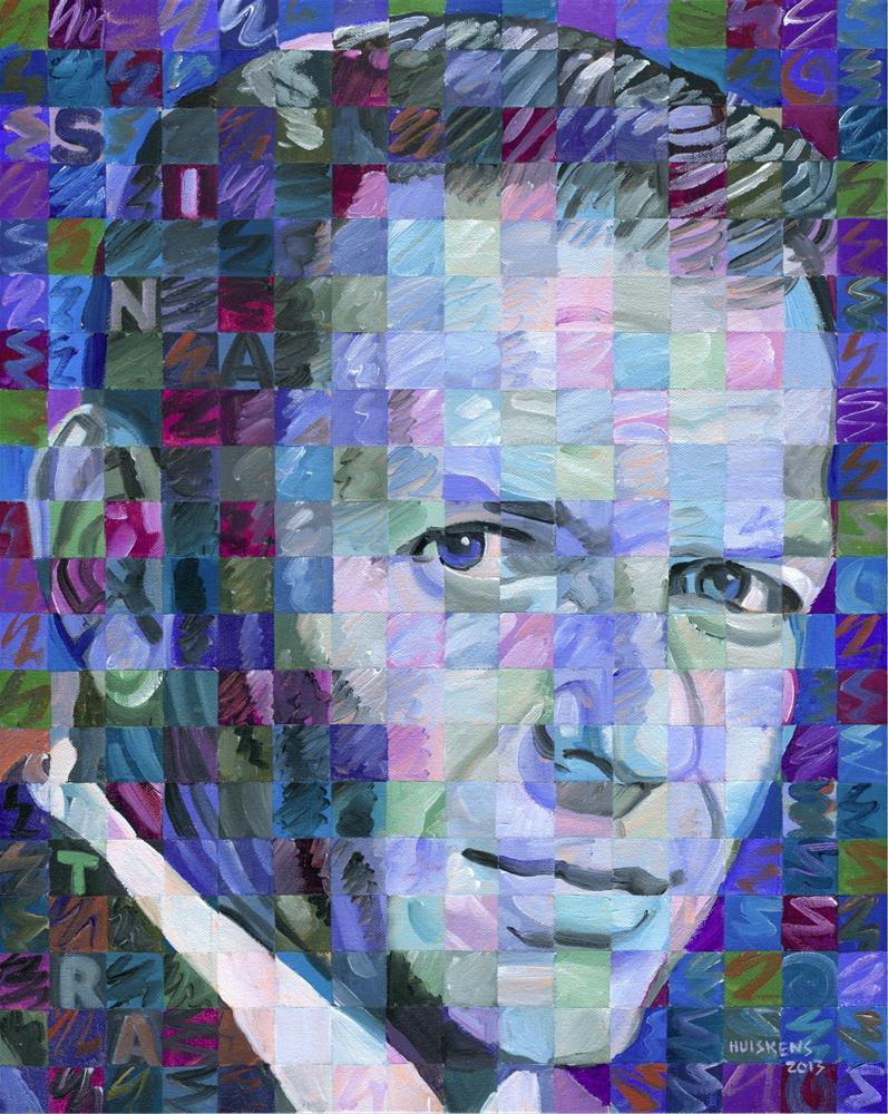 """Blue Sinatra"" original fine art by Randal Huiskens"