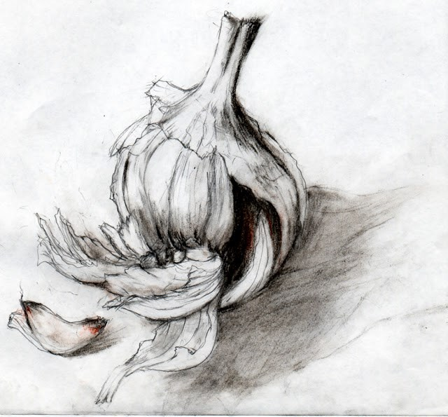 """value study 2"" original fine art by Mitsuru Cope"