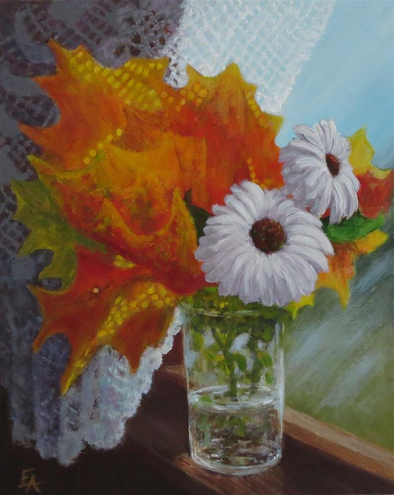 """Sunshine"" original fine art by Elizabeth Elgin"