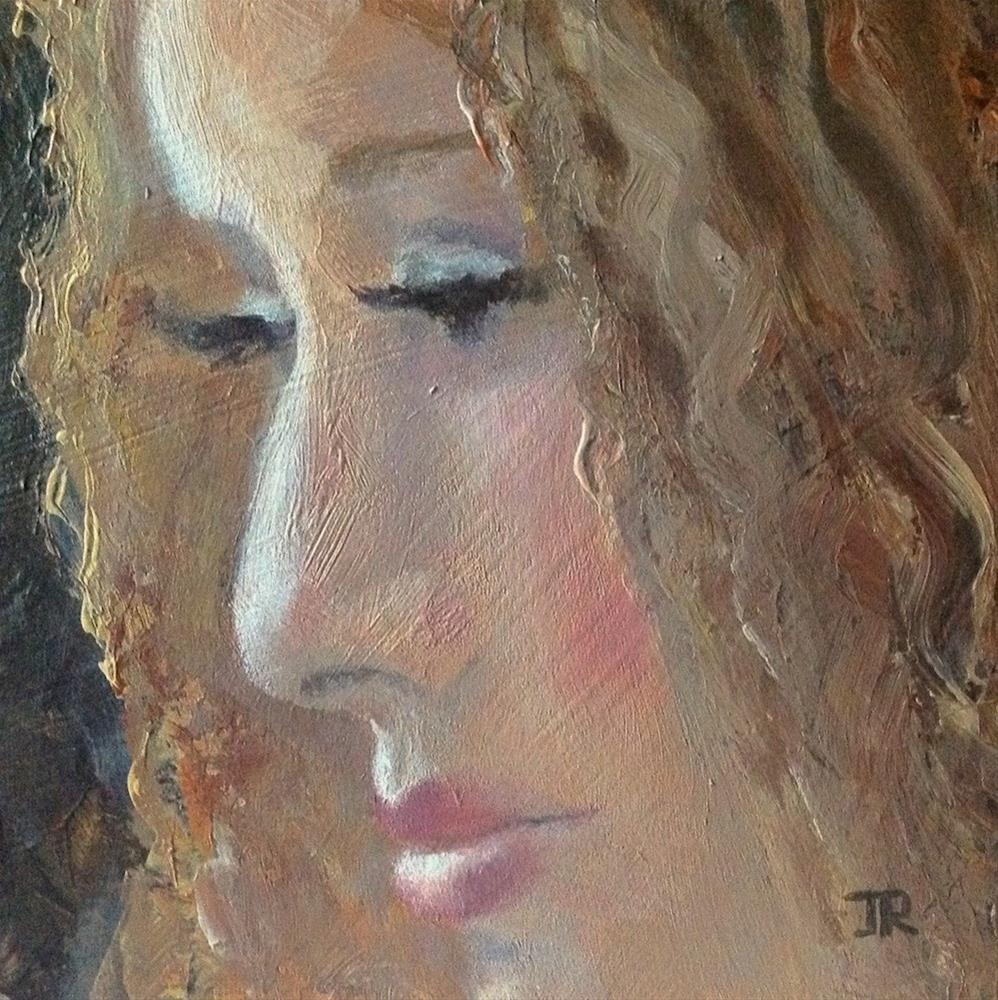 """Next Time"" original fine art by June Rollins"