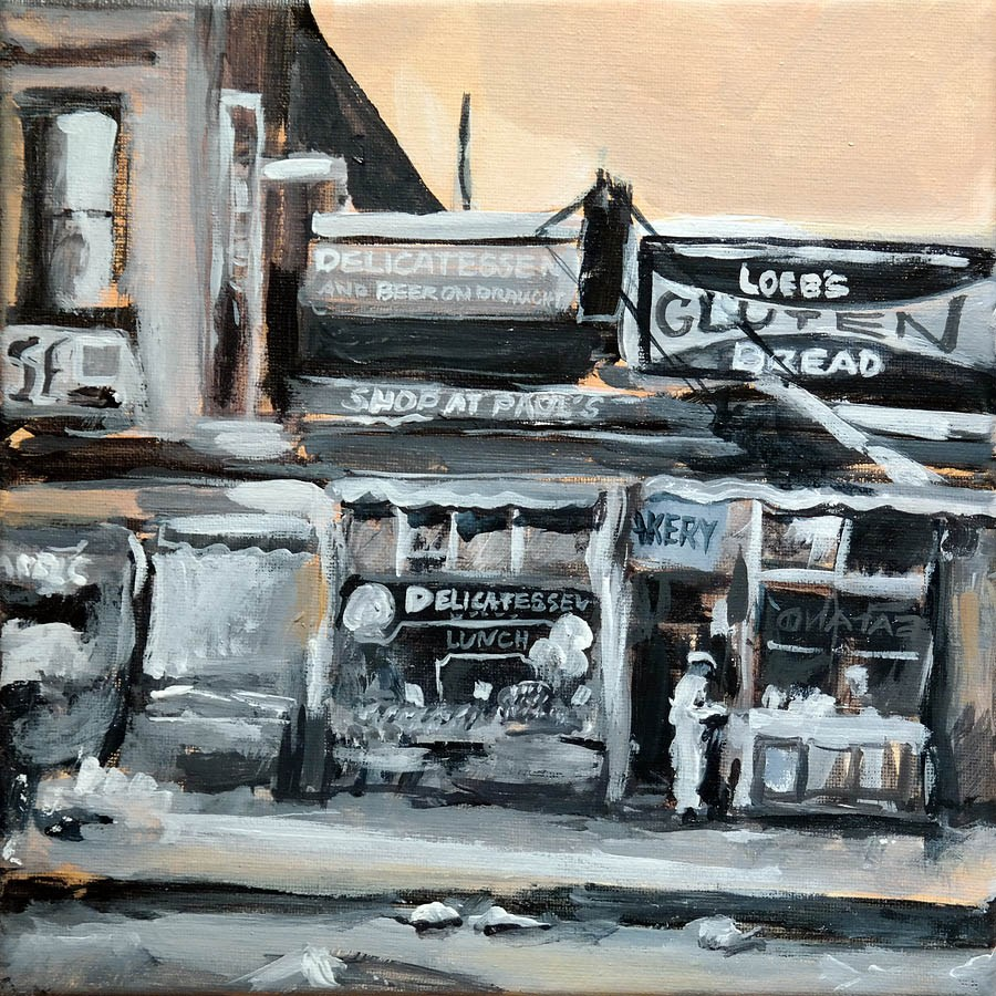 """1319 Bronx"" original fine art by Dietmar Stiller"