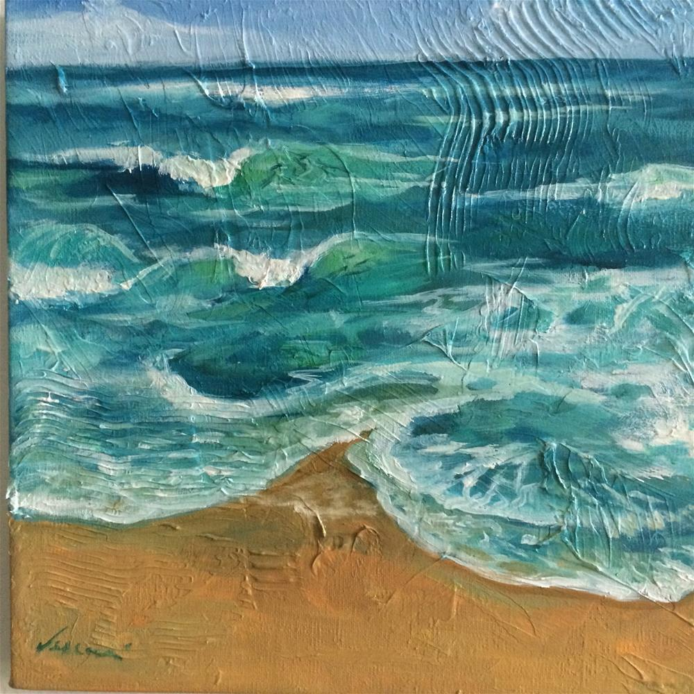 """Beach Study"" original fine art by Valerie Vescovi"