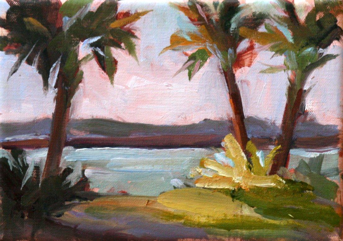 """""""amelia island"""" original fine art by Carol Carmichael"""