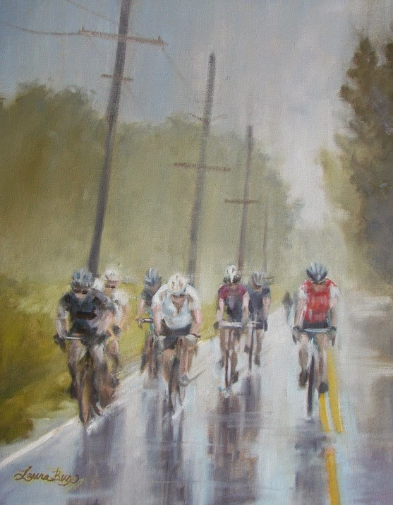 """A Ride to Remember"" original fine art by Laura  Buxo"