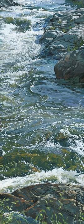 """Water 3"" original fine art by Nadi Spencer"