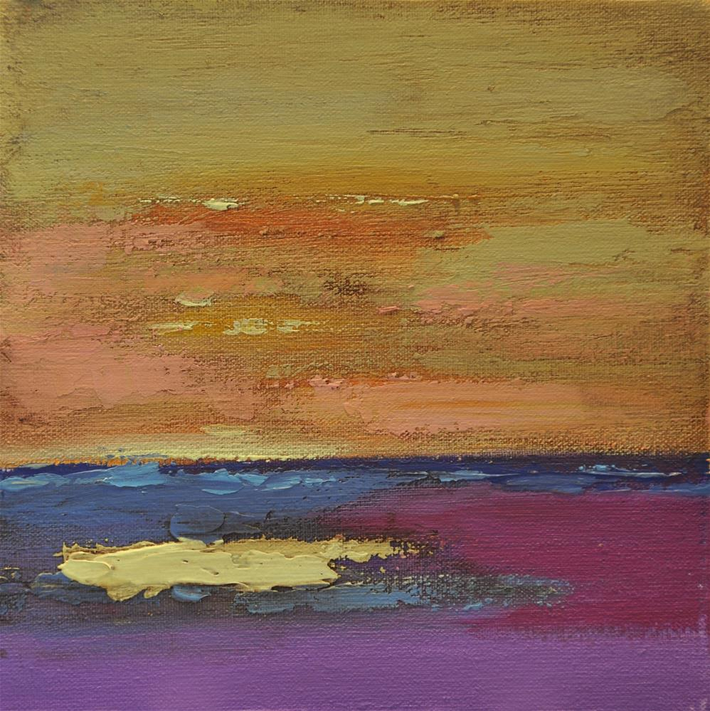 """Landscape 161"" original fine art by Ewa Kunicka"