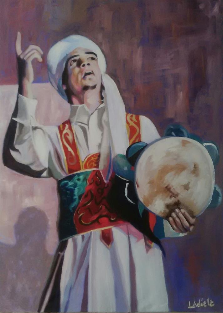 """My Redeemer Lives"" original fine art by Linda Adiele"