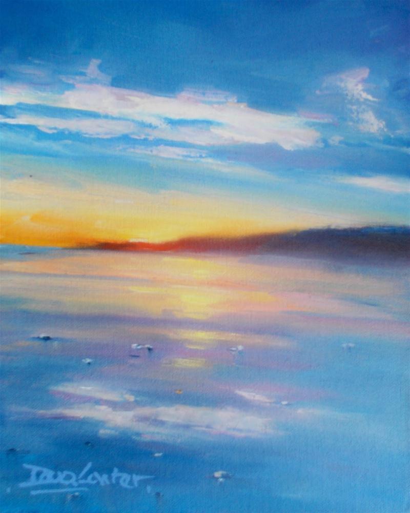 """""""Summer Before the Storm"""" original fine art by Doug Carter"""